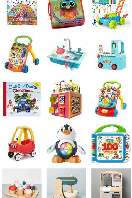 Baby/Toddler toys gift guide   #LTKHoliday #LTKbaby #LTKGiftGuide