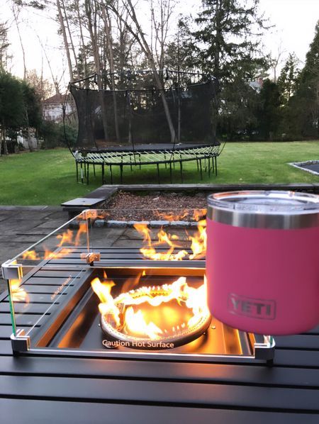 A fire pit and a Yeti mug are my cold weather accessories. 😉🌬❄️  #LTKhome #LTKgiftspo #LTKunder50