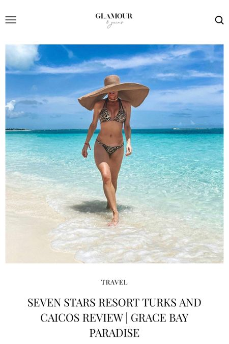 Full review of Seven Stars resort Turks and Caicos and everything you need to know before you book on the blog. They offer free cancellations if you book via the linked site  #turksandcaicos #providenciales  #LTKtravel