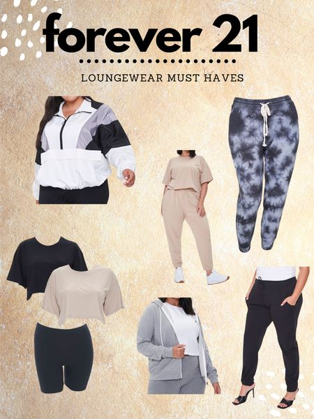Forever 21 Loungewear favs 💕 Youll be able to read all about everything on my blog abrunetteandablonde.com http://liketk.it/2YpNQ #liketkit #LTKcurves #LTKstyletip #LTKunder50 @liketoknow.it