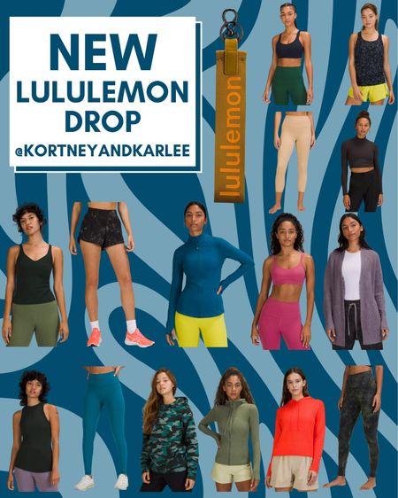 New Lululemon Arrivals!  New Lululemon arrivals | Lululemon leggings | Lululemon sports bra | Lululemon tank | lululemon shorts | lululemon sweatshirt | lululemon top | lululemon shirt | Kortney and Karlee | #kortneyandkarlee #LTKGifts @liketoknow.it #liketkit  #LTKunder50 #LTKunder100 #LTKsalealert #LTKstyletip #LTKSeasonal #LTKHoliday