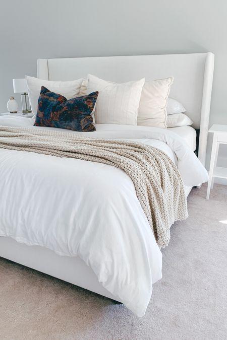 A bed so cozy, I never want to leave! http://liketk.it/3hhDc #liketkit @liketoknow.it #LTKhome #LTKunder50 #LTKunder100 #targethome #casaluna #potterybarn #bedding @liketoknow.it.home