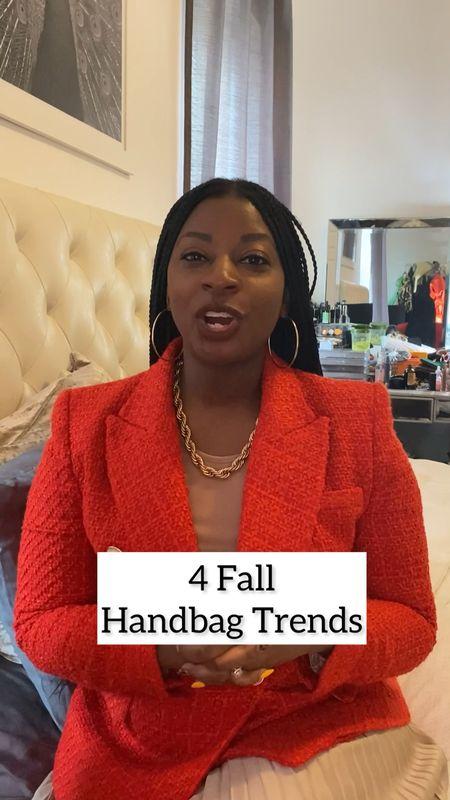 Shop 4 handbag trends for Fall   #LTKSeasonal #LTKitbag #LTKstyletip