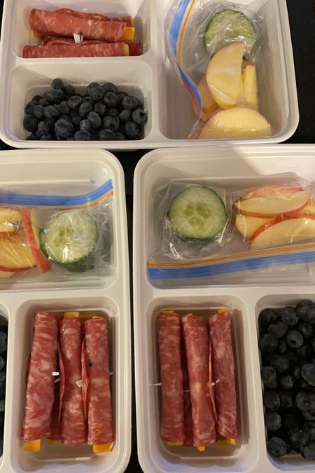 meal prep containers! great for packing lunches and back to school! #mealprep #container  #LTKbacktoschool