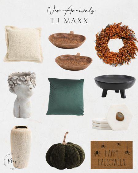 TJ Maxx new arrivals fall home decor fall throw pillows fall wreath decorative pumpkin http://liketk.it/3ohU0 @liketoknow.it #liketkit #LTKunder100 #LTKunder50 #LTKhome