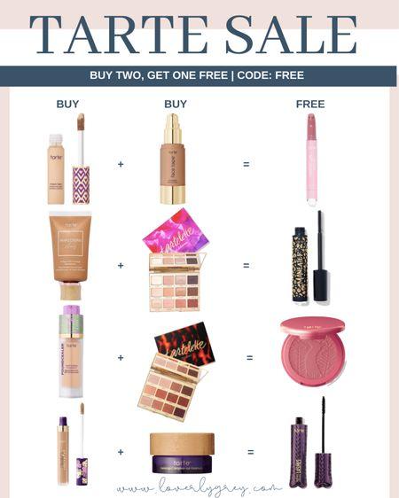 Last day for the tarte buy two get one free sale with code FREE!   #LTKsalealert #LTKunder100 #LTKbeauty