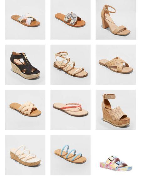Target summer sandals    http://liketk.it/3gQUv #liketkit @liketoknow.it