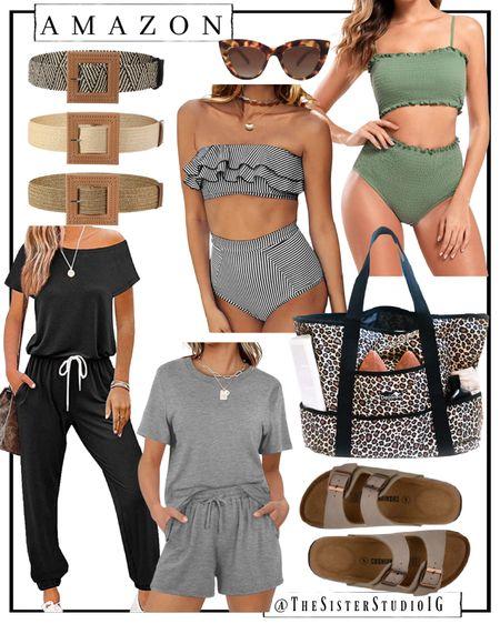 New Amazon finds! Beach bag. Swimsuits. Sandals.     http://liketk.it/3f0Ew @liketoknow.it #liketkit #LTKtravel #LTKstyletip