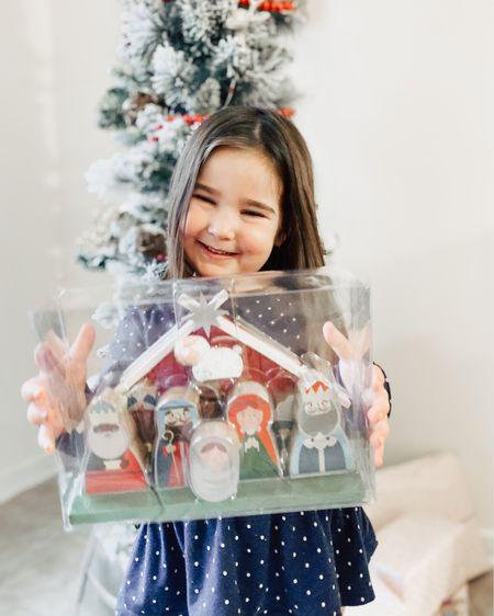 Kids nativity play set for elf on the shelf gift  http://liketk.it/33Nis @liketoknow.it #liketkit #LTKgiftspo #LTKhome #LTKkids