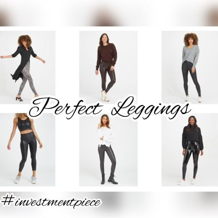 The perfect leggings just might be the faux leggings from @spanx (from classic to snake to shiny). Wear from work to parties- and the best thing is that every woman in your life will love them so they're a must give gift! #investmentpiece   #LTKstyletip #LTKGiftGuide #LTKunder100