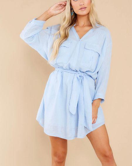 Blue summer dress http://liketk.it/3hrHQ #liketkit @liketoknow.it #LTKfit #LTKtravel #LTKstyletip