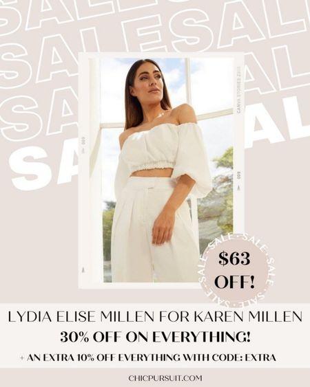 SALE ALERT! Lydia Elise Millen for Karen Millen is 30% off + 10% extra with code EXTRA in their Memorial Day Sale! These pieces are so beautiful!! #LTKsalealert #LTKSpringSale #LTKstyletip http://liketk.it/3giDu @liketoknow.it #liketkit