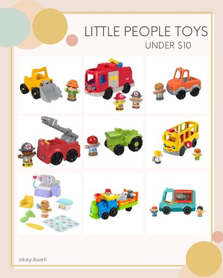 The cutest little people toys all under $10  #LTKGiftGuide #LTKkids #LTKHoliday
