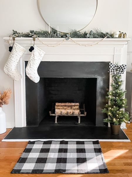 Having a case of seasonal confusion 🙃   It feels like spring in NY this week so it feels bizarre to even think about the holidays! I've never had a mantle before and we're going to be home for the holidays, so I couldn't wait to make it cozy! Anyone else ready for the holidays?    #StayHomeWithLTK #LTKhome #LTKunder50