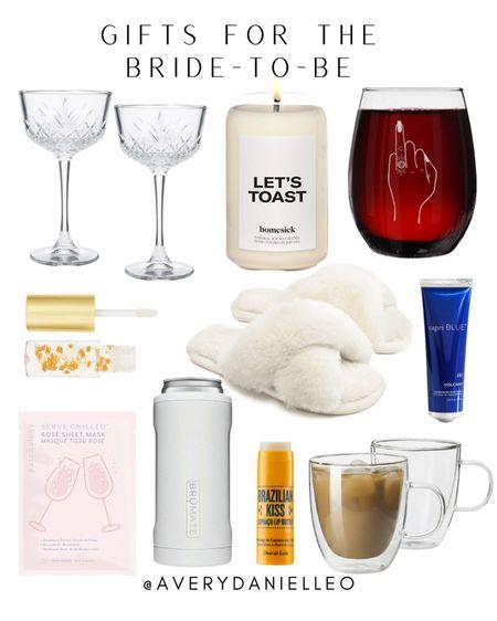Gift guide for the bride-to-be! 💍  #LTKwedding #LTKGiftGuide #LTKunder50