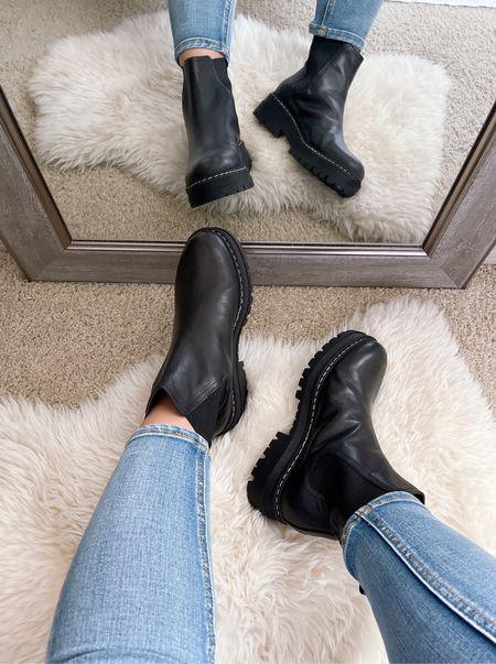 Nordstrom Anniversary Sale | Marc Fisher Chelsea Boots (also available in white) | wearing size 8   #LTKstyletip #LTKsalealert #LTKunder100