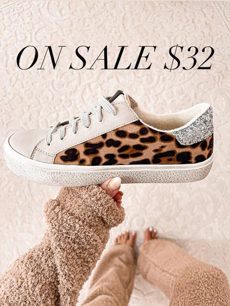 Leopard golden goose dupes  #sneakers #walmart #laurabeverlin  #LTKshoecrush #LTKsalealert #LTKunder50