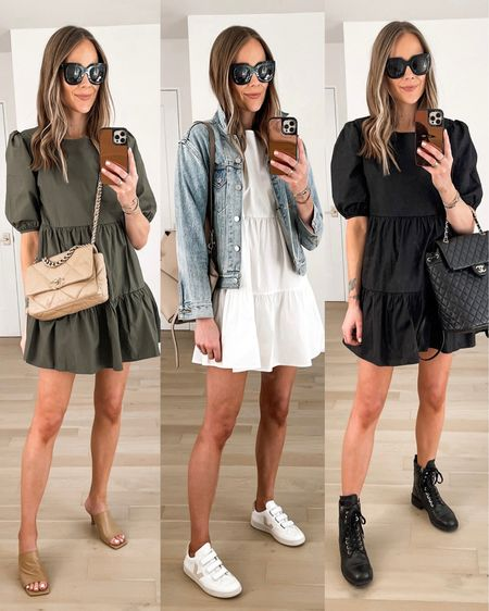 Love this summer dress and how versatile it is! Fits TTS (wearing a small) #summerdress #dresses #vejasneakers #combatboots #sandals #bloomingdales http://liketk.it/3ie8d #liketkit @liketoknow.it #LTKstyletip #LTKunder100 #LTKunder50