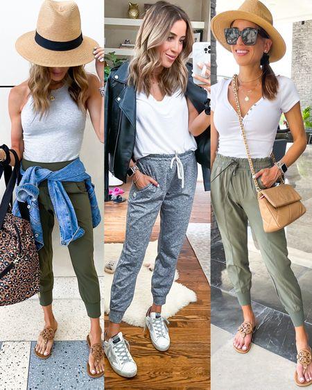 Three ways to wear my favorite joggers size xxs/Xs http://liketk.it/3gxMk #liketkit @liketoknow.it #LTKunder50 #LTKunder100 #LTKstyletip