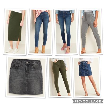 Old Navy bottoms!! All 30% off today or 50% off if you have the app!   http://liketk.it/2TB26 #liketkit @liketoknow.it #LTKunder50 #LTKsalealert