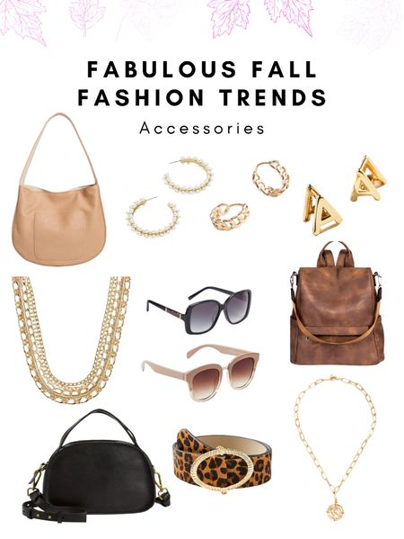 Fall outfits, fall date night, Fall jewelry, accessories, handbags, huggies, gold hoops, square sunglasses, crossbody bag, backpack, Amazon finds, calf hair belt, coin pendant necklace, chain necklace, hobo bag  🕶Up on EMPTYNESTBLESSED.com we rounded up our favorite fall accessories and shoes!    #LTKstyletip #LTKSeasonal #LTKworkwear