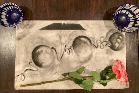 Pearls & Razorblades charcoal #1 available on Etsy!   http://liketk.it/2NuuM    #liketkit    @liketoknow.it