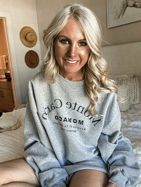 LTK day  LTKday is here! I love this oversize sweatshirt from nasty gal ! Check out their graphic tees ! Prices are competitive with Shein and forever 21   #LTKunder50 #LTKDay #LTKsalealert