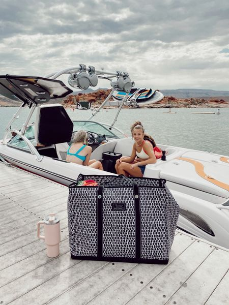 SCOUT bags are on sale on @zulily!!! It was perfect for a day of boating! #zulilyfinds #LTKSeasonal  #LTKfamily #LTKsalealert