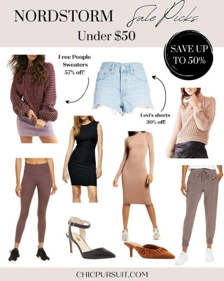SALE ALERT! Sharing my favorite Nordstrom sale finds under $50! These include Free People sale items, Levi's sale items, Zella sale items and more! These are Memorial Day sale finds, but the sale actually extends to 6/6! #LTKsalealert #LTKSpringSale #LTKunder50 http://liketk.it/3giBv @liketoknow.it #liketkit