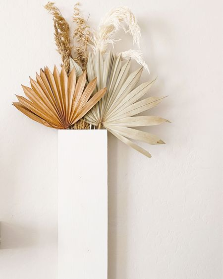 Palm + Pampas Dried Bouquet . . . . .  http://liketk.it/2S44l #liketkit @liketoknow.it