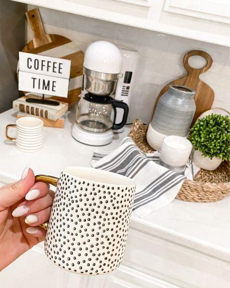 Walmart home favorites! http://liketk.it/3l626 #liketkit @liketoknow.it #LTKunder50 #LTKhome #walmarthome #kitchendecor #mugs #coffee