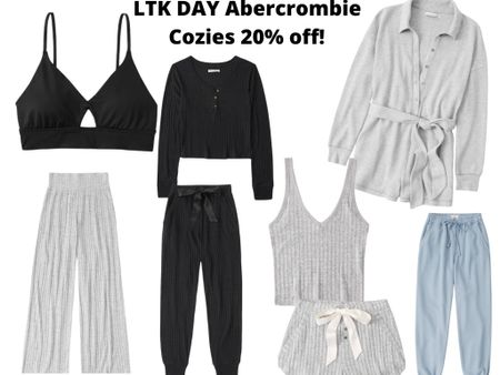 http://liketk.it/3hg49 #liketkit @liketoknow.it #LTKDay #LTKsalealert #LTKunder50  Who doesn't need cozy options in their life 😍 Abercrombie LTK DAY sale get 20% off in app purchases!  Linked up some super cute lounge wear.  Comes in other colors and sizes.   Sale ends June 13th.  Code: LTKAF2021  Price ranges: $35-$70