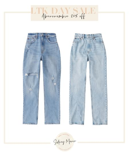 Abercrombie curve love denim jeans on sale for LTK day @liketoknow.it http://liketk.it/3hjqt #liketkit #LTKDay #LTKsalealert #LTKunder100