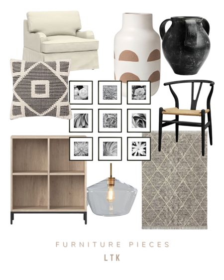 LTK black and beige home furniture decor   #LTKhome #LTKunder50 #LTKunder100
