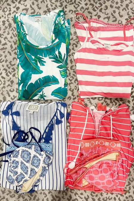 Packing tip: pack at least one pajama, swimsuit and cover-up in your carry on bag in case your checked bags don't make it.    #LTKtravel #LTKunder50 #LTKunder100