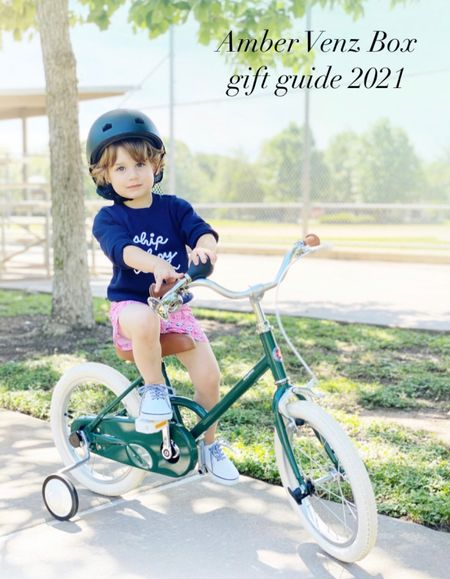 What is more attractive than a boy on a beautiful bike? I rest my case. This gift is a lot of look for a very reasonable price and it provides for experiences together and a more active lifestyle.  #LTKGiftGuide #LTKkids #LTKHoliday