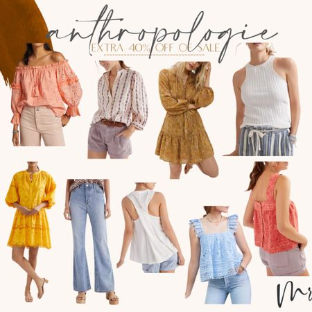 Anthropologie sale…extra 40% of sale items. Discount applied in cart #anthrosale #anthropologie #dresses #denim   #LTKsalealert #LTKunder100 #LTKstyletip