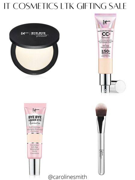 It Cosmetics LTK Gifting Sale  Makeup Favs! Concealer - shade light Foundation - shade light Illuminating makeup   #LTKHoliday #LTKGiftGuide #LTKSale