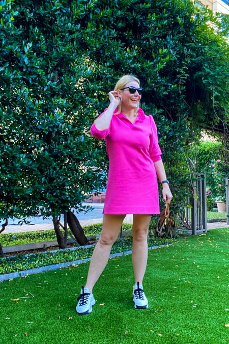 An easy jersey dress with some kicks you need now.   #LTKshoecrush #LTKunder50 #LTKcurves