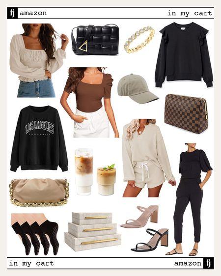 #amazonfashion #amazonfinds loungewear, graphic sweatshirt, #falloutfit   #LTKstyletip #LTKunder50 #LTKunder100