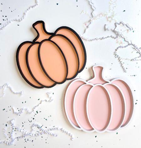 Pumpkin Decor  Etsy shop Pink & orange pumpkin  Shelf decor   #LTKkids #LTKHoliday #LTKSeasonal