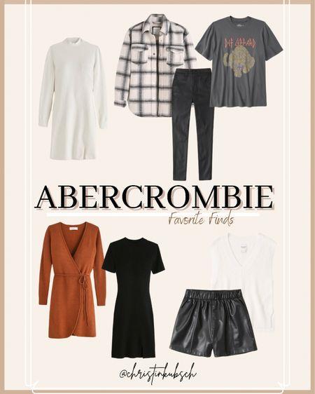 New arrivals at Abercrombie - AF will be included in the sale starting tomorrow    #LTKunder100 #LTKSale #LTKsalealert