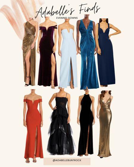 Evening gowns dresses long dresses wedding guest   #LTKwedding #LTKstyletip