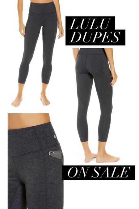 Lululemon dupes on sale ❤️ http://liketk.it/39fzF #liketkit @liketoknow.it #activewear #lululemon #nordstrom #leggings #yoga #comfortstyle #workoutgear #leggings #LTKunder50 #LTKsalealert #LTKfit #desmoines #iowa #nordstromrack #thebookofcaleb