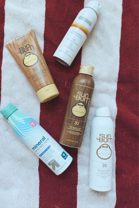 Sunscreens, what to pack in your beach bag, mineral sunscreen, best sunscreens, kids sunscreen, http://liketk.it/3iPxR #liketkit @liketoknow.it #LTKfamily #LTKtravel #LTKbeauty