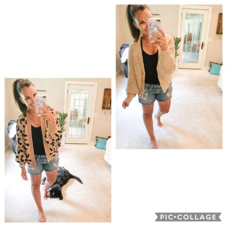 A quick show of the cropped cardigans I just got in! So perfect for these cooler summer nights over a tank and shorts but for sure I'll be wearing them over dresses and then some this fall! They are still 30% off!!! The button one comes in grey too!   http://liketk.it/2Tmgv #liketkit @liketoknow.it   #LTKsalealert