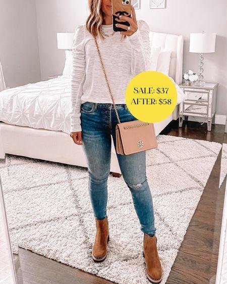 Favorite free people top from the Nordstrom sale still in stock! Runs true to size. Wearing size small 🙌🏼🙌🏼  #LTKunder100 #LTKstyletip #LTKsalealert