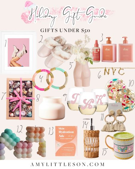 My 2021 Holiday Gift Guides launched today! 💗✨ #giftguides #holiday #holiday2021 #giftsunder50  #LTKunder50 #LTKGiftGuide #LTKHoliday