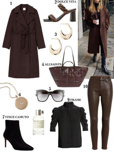 Brown everything!!!    #LTKstyletip #LTKitbag #LTKshoecrush