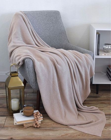 The best barefoot dreams blanket dupe ☁️ it's butter soft and amazing quality!!! It's also on major sale 🎉 Would make the perfect Christmas gift  . . . Blanket, throw blanket, gift guide, Christmas gift ideas   #LTKHoliday #LTKsalealert #LTKSeasonal